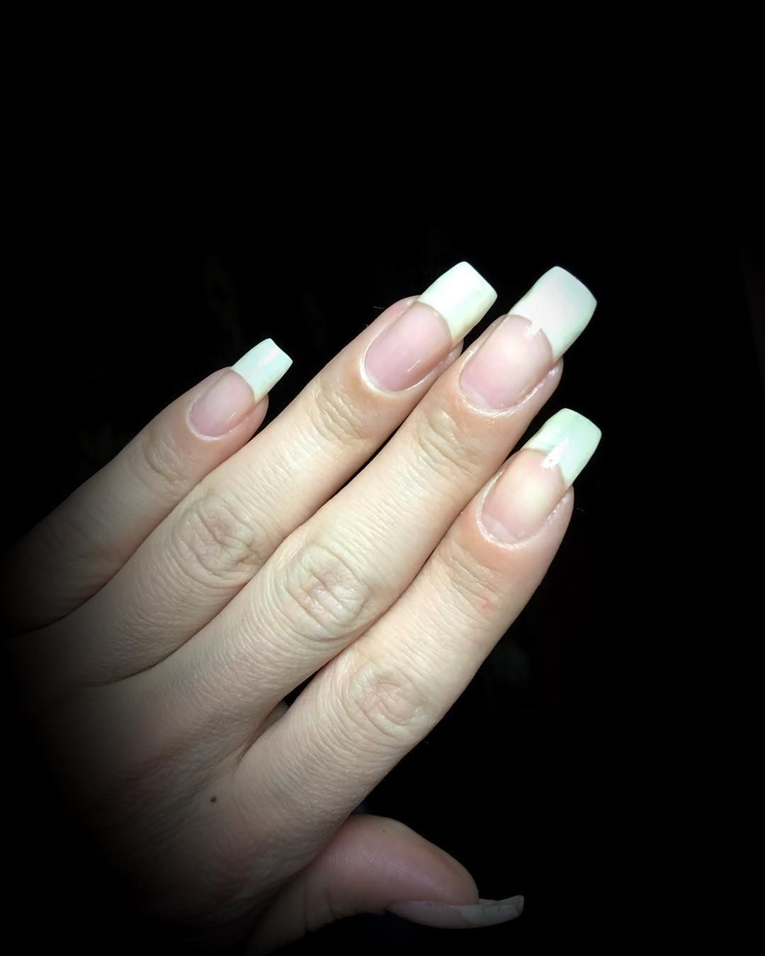 French manicure   3. Double Team + Dynamicpunch Amazing Fantastic ...