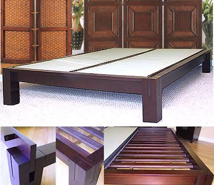 Tall Japanese Platform Bed The Craftsmanship Is Amazing Solid