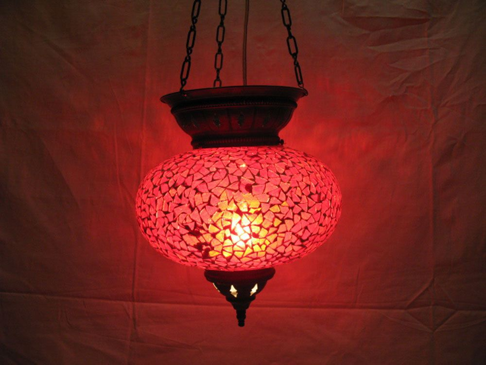 moroccan lantern hanging lamp glass chandelier light lampen handmade candle m 59 #Handmade #Moroccan