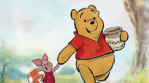 Photo of pooh and piglet