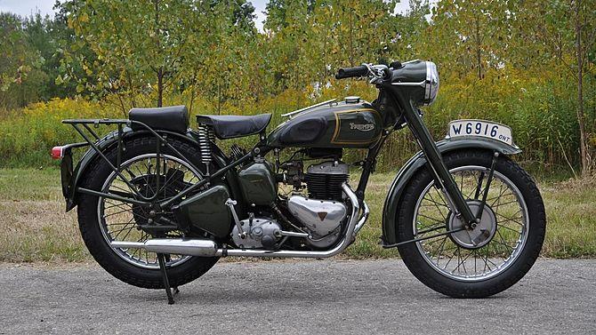 1942 Triumph Trw 500 Mecum Auctions Trw Triumph Vintage Motorcycles