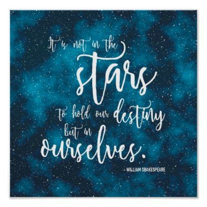 night sky shakespeare destiny quote