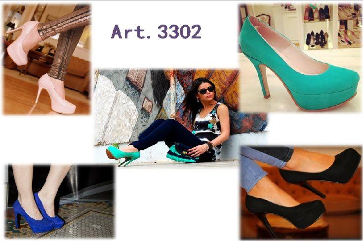 Stilettos ..basico que perdura todo el año otoño-invierno 2014 te propone  una paleta que te perdura. b1364da7fce