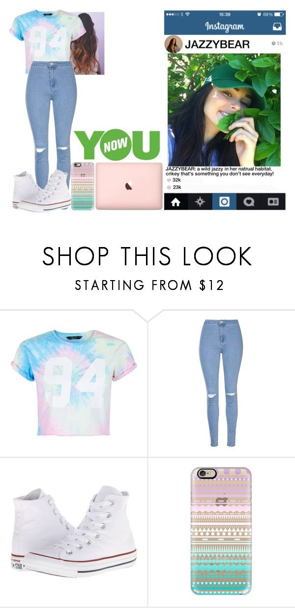 """a wild jazzy // digi rp"" by jasmine-the-basic-penguin ❤ liked on Polyvore featuring New Look, Glamorous, Converse, Casetify and YOUNOW"