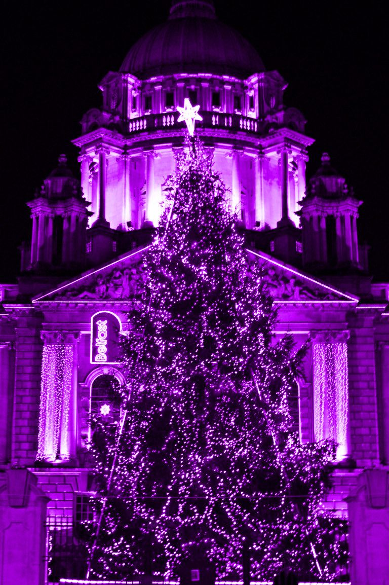 17 Best images about Purple Christmas u003c3 on Pinterest | Christmas trees,  Christmas ornament and Angel