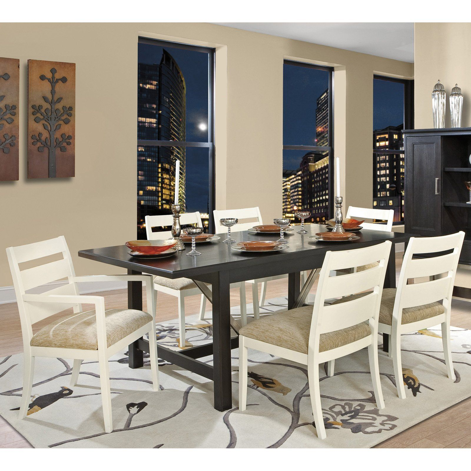 Have To Have It Howard Miller Extension 7 Piece Dining Table Set