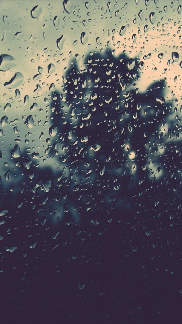 Raindrops On The Window Iphone 6 Plus Wallpaper Background Iphone