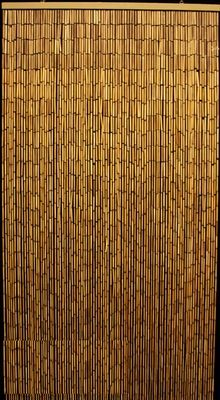 Plain Bamboo Beaded Curtain 90 Strands 35 X 75 78 Bamboo Curtains Bamboo Beaded Curtains Beaded Curtains