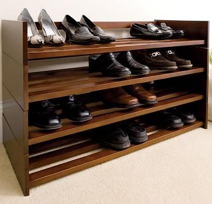 Wood Shoe Rack Plans 4 Shoe Rack Furniture Wooden Shoe Racks