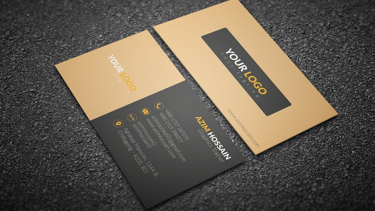 Business card design in photoshop part 1 beginner tutorial business card design in photoshop part 1 beginner tutorial adob reheart Gallery