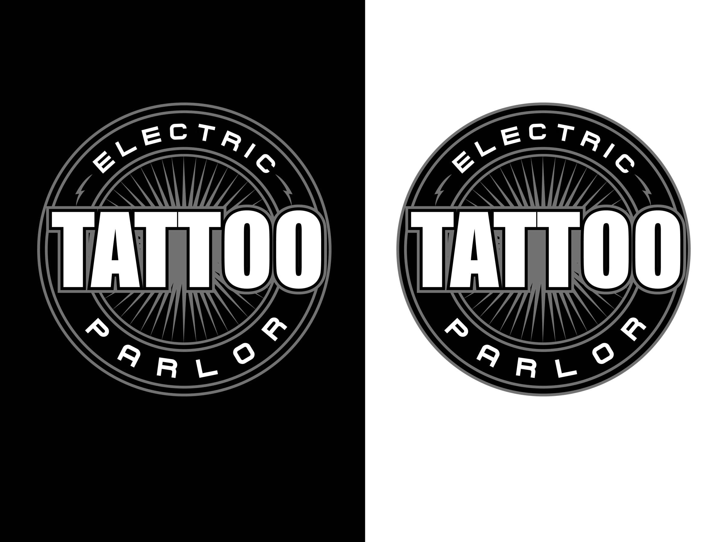 Logo Design 45 'Electric Tattoo Parlor' design project