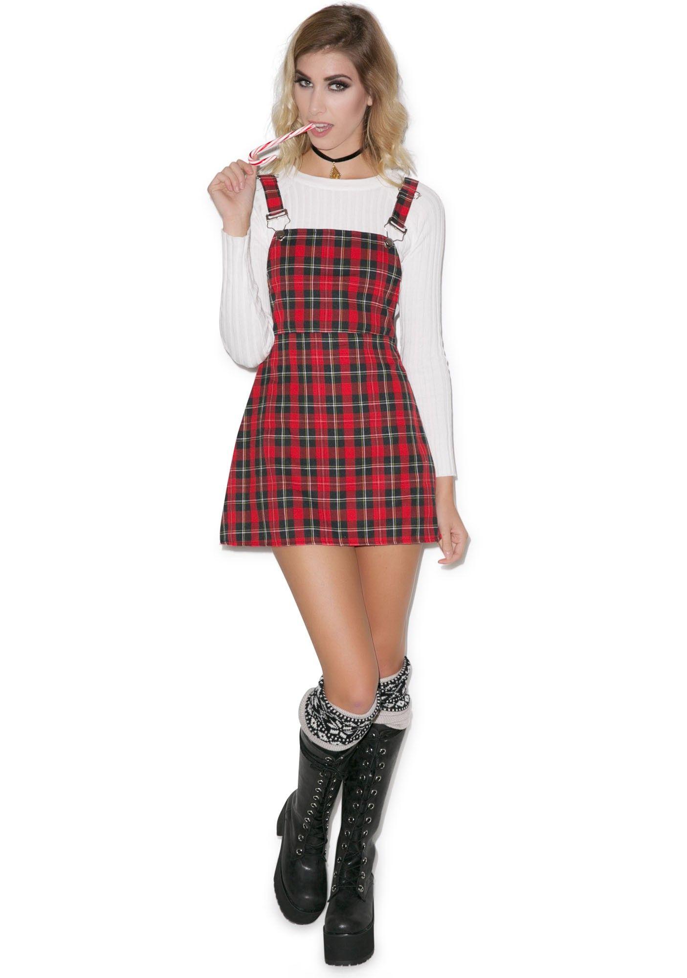 Teen Spirit Plaid Dress Dolls Kill Pinterest Plaid