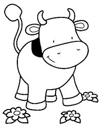 Boyama Sayfaları Kolay Ile Ilgili Görsel Sonucu Boyama Cow