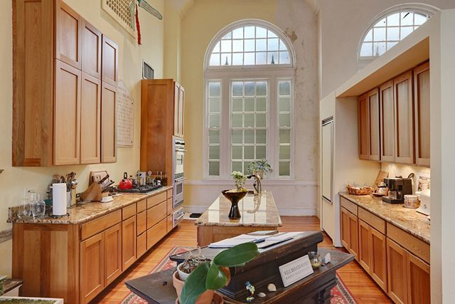 Their Warm, Inviting Kitchen Boasts Hand Crafted Cabinetry And Stone  Countertops U2014 Perfect For