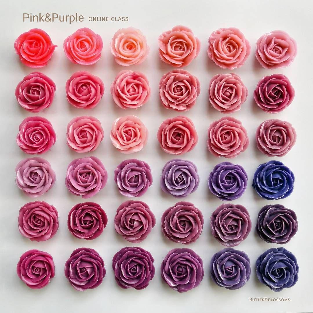 Color Chart Roses Erkalnathandedecker
