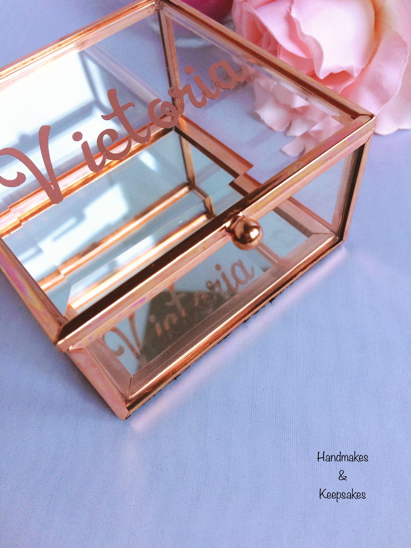 Personalised Jewellery Box Girlfriend Gift Personalize Gift