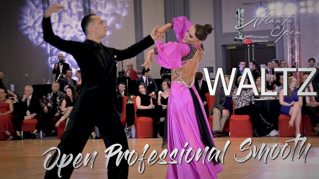 Waltz I Professional American Smooth Final I Atlanta Open 2019 Waltz Ballroom Dancer Atlanta