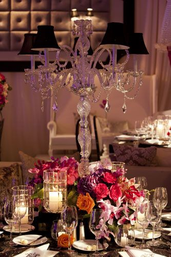 Mini chandelier centerpiece todd events marry me pinterest mini chandelier centerpiece todd events aloadofball Images