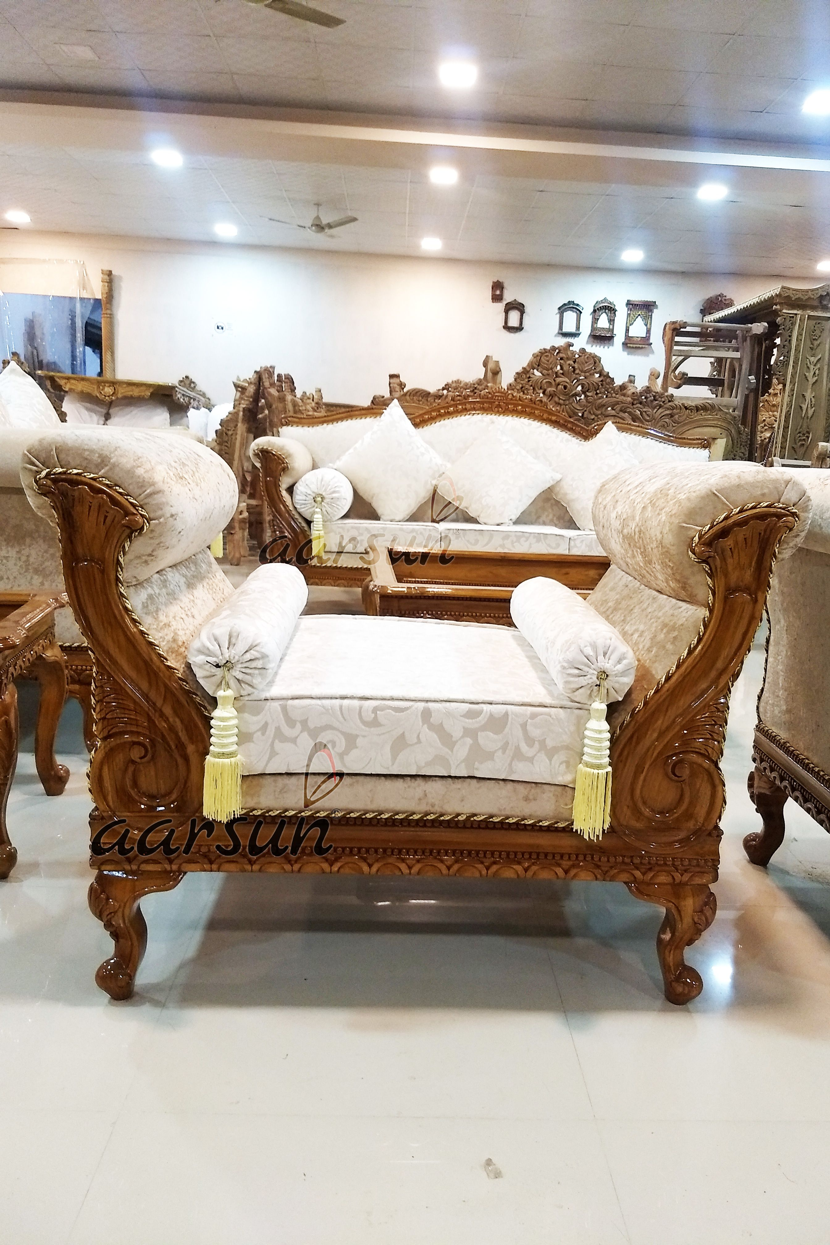 Wood Sofa Set Designer Living Room Furniture Yt 134 Sofa Cumbed Design Wooden Living Room Furniture Wood Sofa