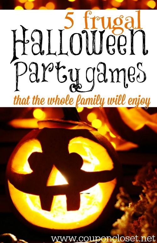 5 frugal halloween party games for families