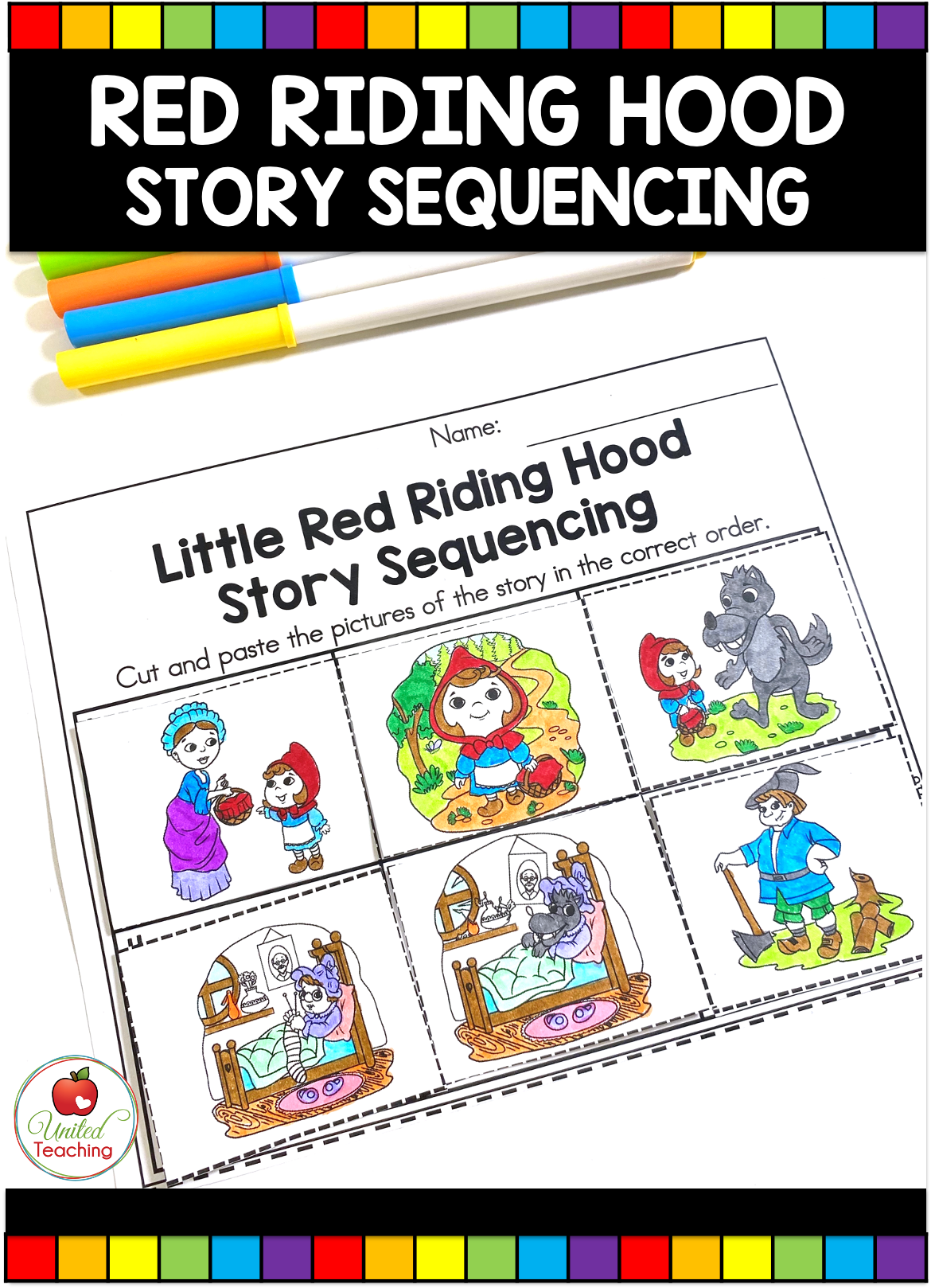 Little Red Riding Hood Fairy Tale Activities