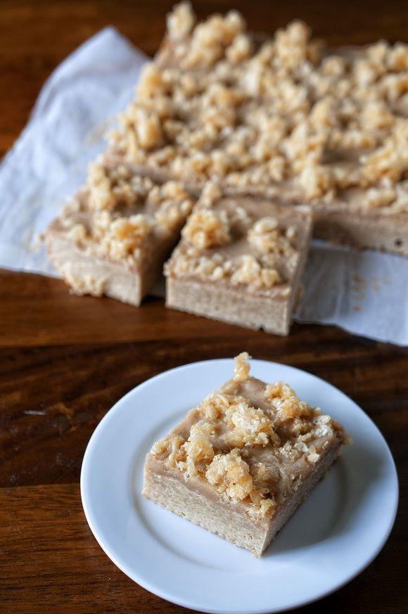 Salted Caramel Crunch Blondies