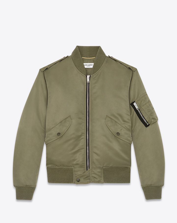 7daff688e7f Saint Laurent Casual Jackets: discover the selection and shop online on  YSL.com