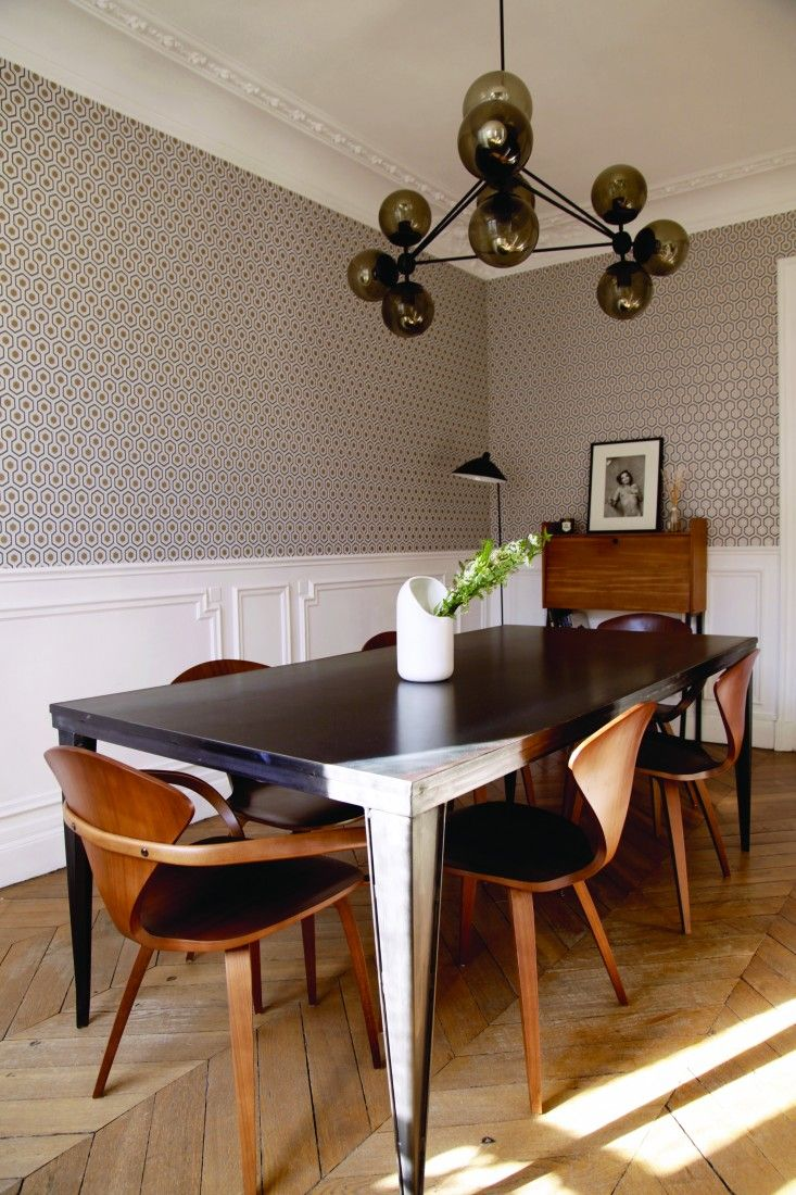 Parisian Dining Room Brilliant The Smallable Apartment At Home With A Parisian Shopkeeper Decorating Design