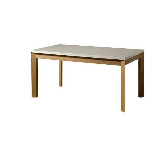 Table Allonge Almera Blanc Chene Tables But Meuble Canape