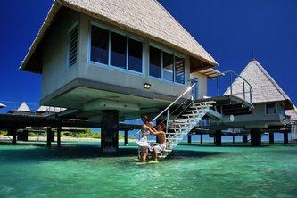 Over Water Bungalow Glp Hotels Escapade Island Resort Noumea New Caledonia