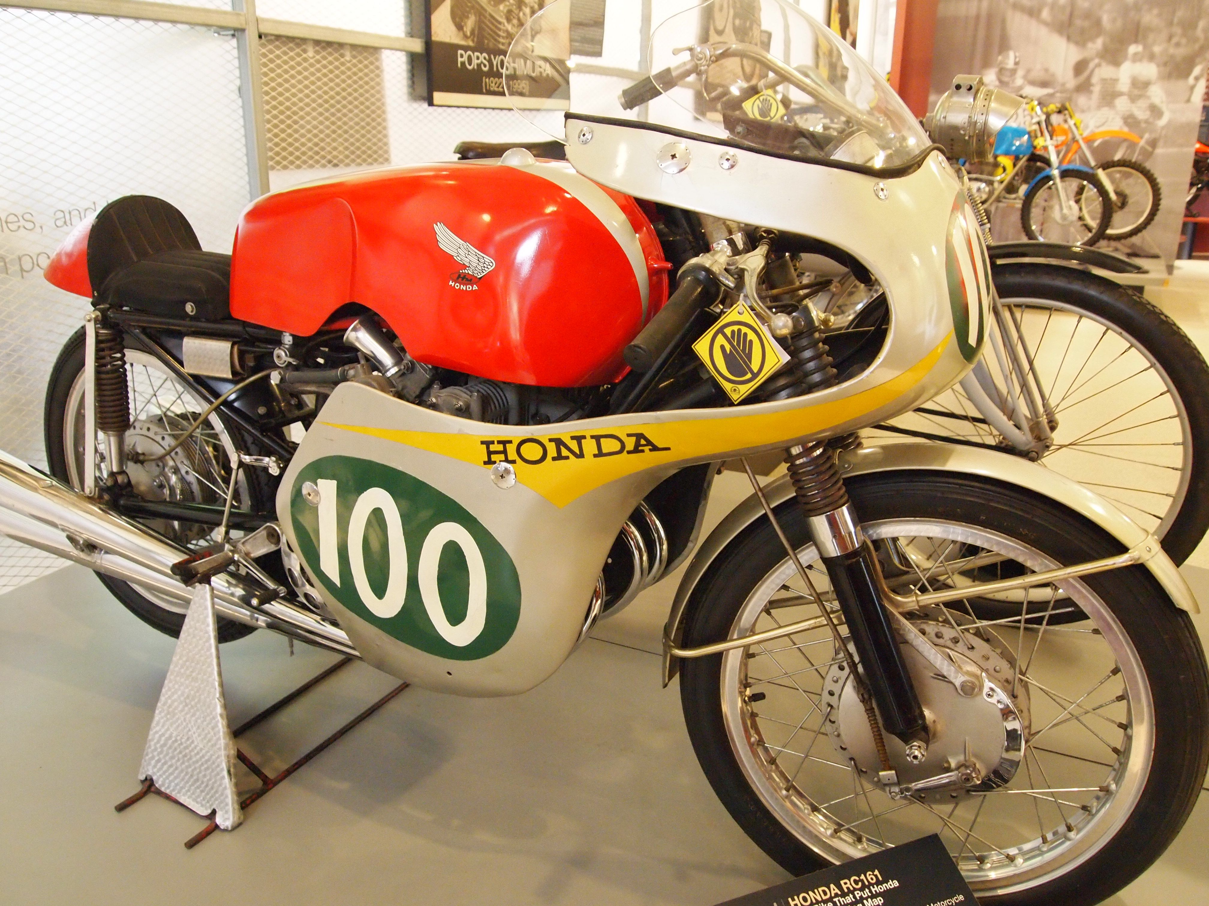 1961 Honda RC161 on display at AMA Hall of Fame Museum Pickerington