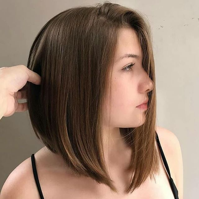 80 Perfekter Bob Frisuren Stylen In 2020 Haarschnitt Bob Bob Frisur Dunnes Haar Haarschnitt