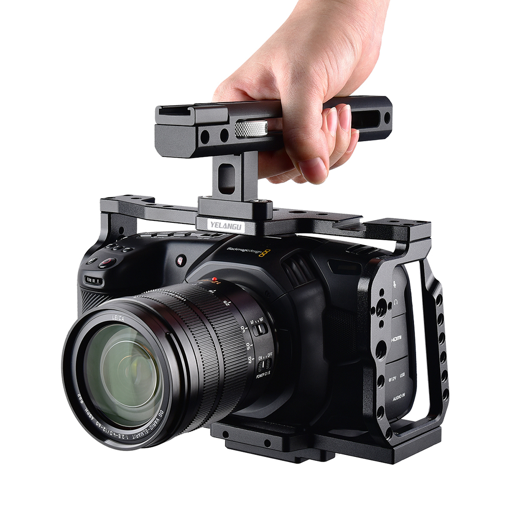 6k Blackmagic Design Pocket Cinema Black Magic Camera With Quick Plate And Top Handle Sale Phonesep Com Black Magic Camera Blackmagic Design Camera