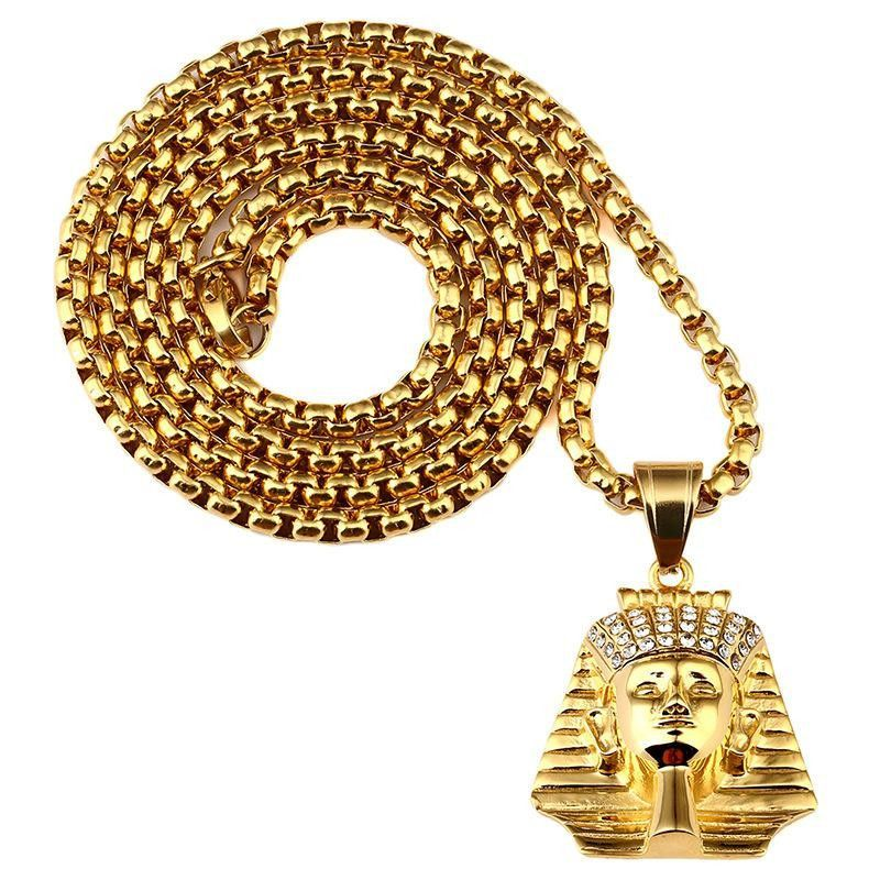 cac86f04995d8 18k Gold Plated Ankh Ancient Egypt Necklace Pendant | Gold Plated ...