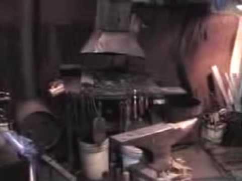 A Blacksmith Shop Layout - YouTube