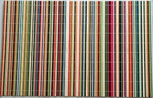 Benson Mills Rainbow Sticks Bamboo Multi Colored Placemats Set Of 4 To View Further For This Item Visit The I Coloring Placemats Placemats Decor Collection
