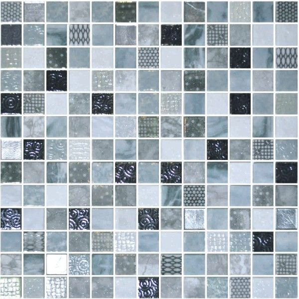Onix Cosmic Lucca 1x1 On 13 1x13 1 Mosaic Tile Sheets Mosaic Glass Glass Mosaic Tiles