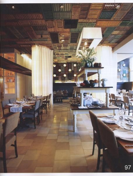 Shutters On The Ceiling  Eateries And Drinkeries  Pinterest Brilliant Ella Dining Room & Bar Inspiration Design