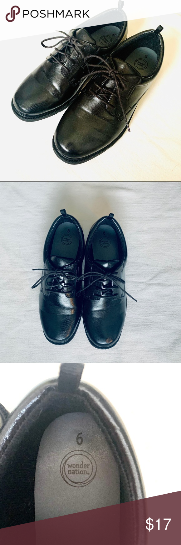 Boys dress shoes size 6 (big boys) in
