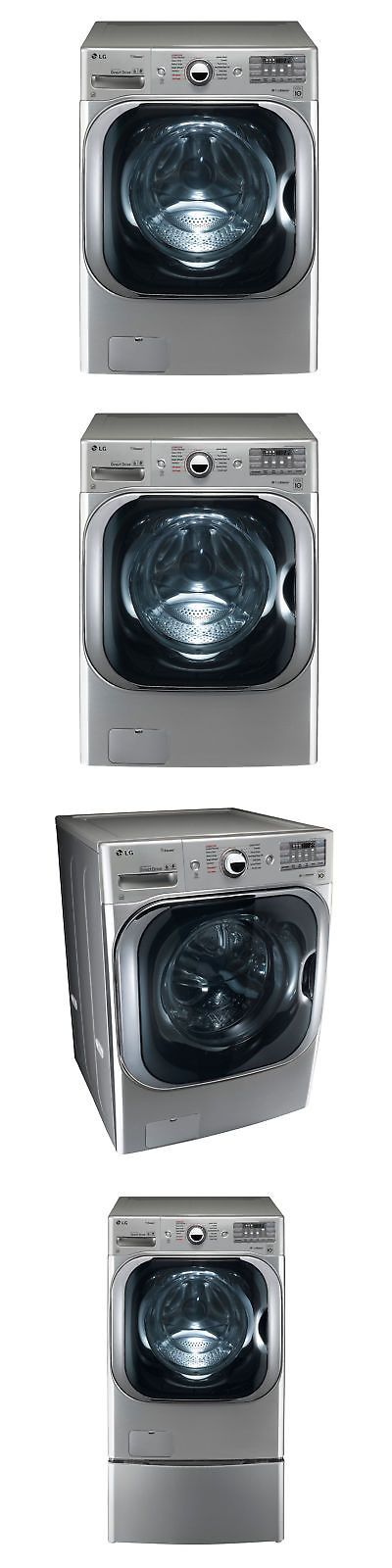 Washer Dryer Combinations And Sets 71257 Lg Wm8100hva 5 2 Cu Ft Mega Cap Front Loading Washing Machine Combination Washer Dryer Washer Dryer Combo