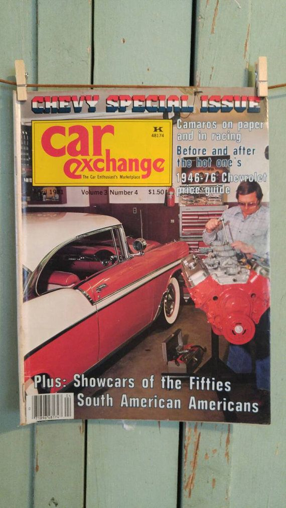 Car Exchange Magazine April 1981 Antique Cars by TheIDconnection ...
