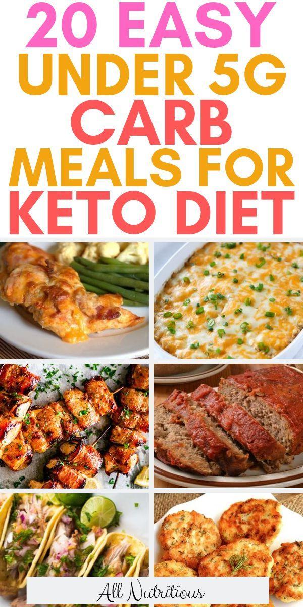 20 Tasty Ketogenic Under 5g Carb Meals