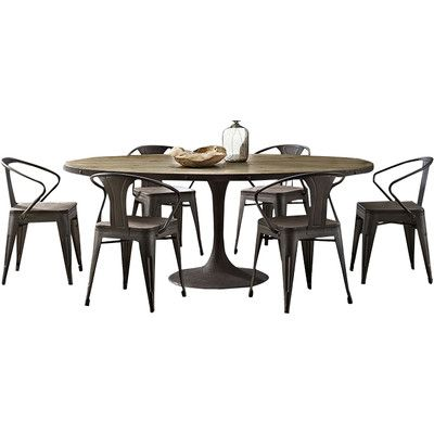 Greyleigh Amherst Dining Table In 2020 Dining Table In Kitchen
