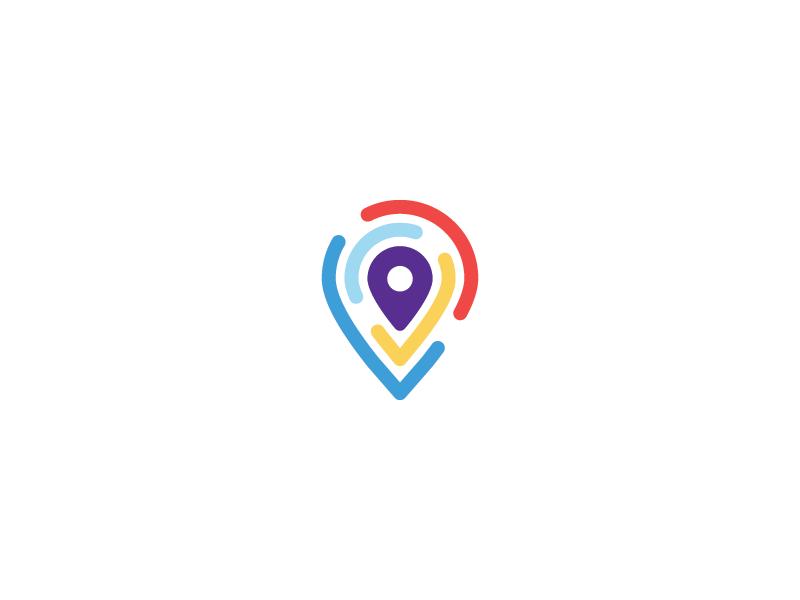 Pin Logo Pin Logo Logo Design Creative Logo Design