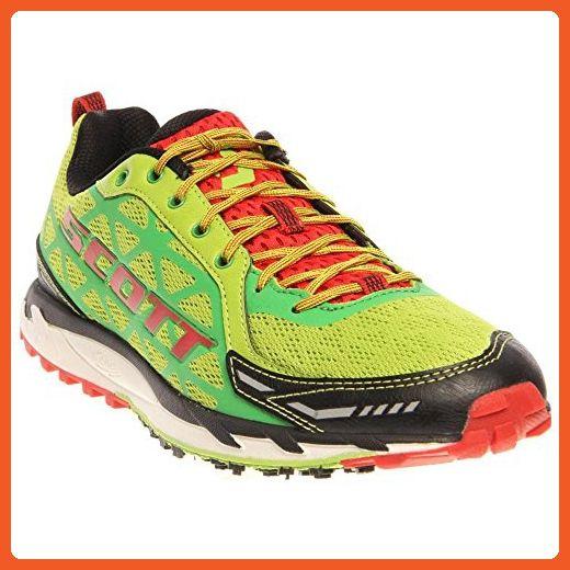2bdf7051ff811 Scott Men's Trail Rocket Sneaker Racing Shoes (11, Green/Red ...