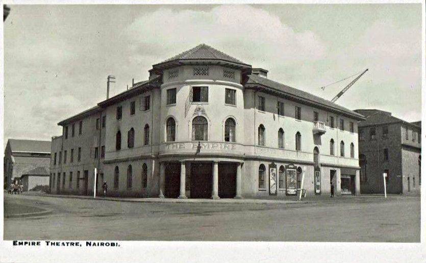 1950s empire theatre on hardinge kimathi street