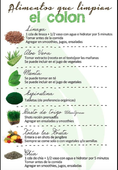 5 verduras para limpiar tu colon