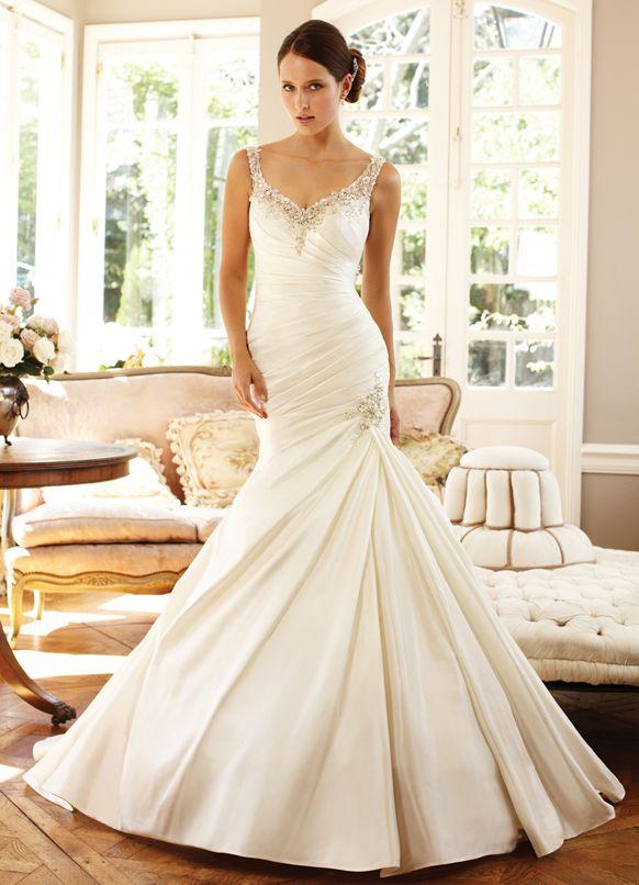 Trending Hollywood Glamour Wedding dress Sophia Tolli Collection YFr