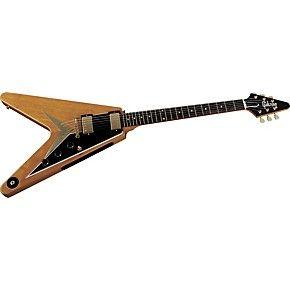 Gibson Custom 50th Anniversary 1958 Korina Flying V Electric Guitar