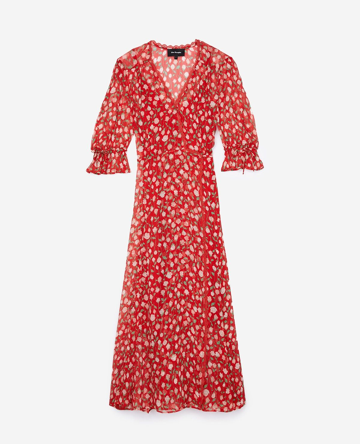 867a7f3f181 Rosa Rossa long red dress - THE KOOPLES | Style | Dresses, Fashion ...